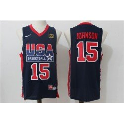 Camiseta Johnson 15 USA 1992 negra