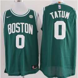 Camiseta Tatum 0 verde Boston Celtics 2018