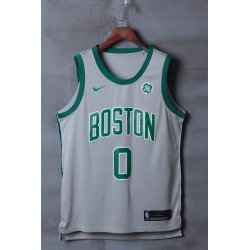 Camiseta Tatum 0 gris Boston Celtics 2018