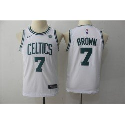 Camiseta NIÑOS Brown 7 verde Boston Celtics 2018