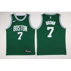 Camiseta Brown 7 gris Boston Celtics 2018
