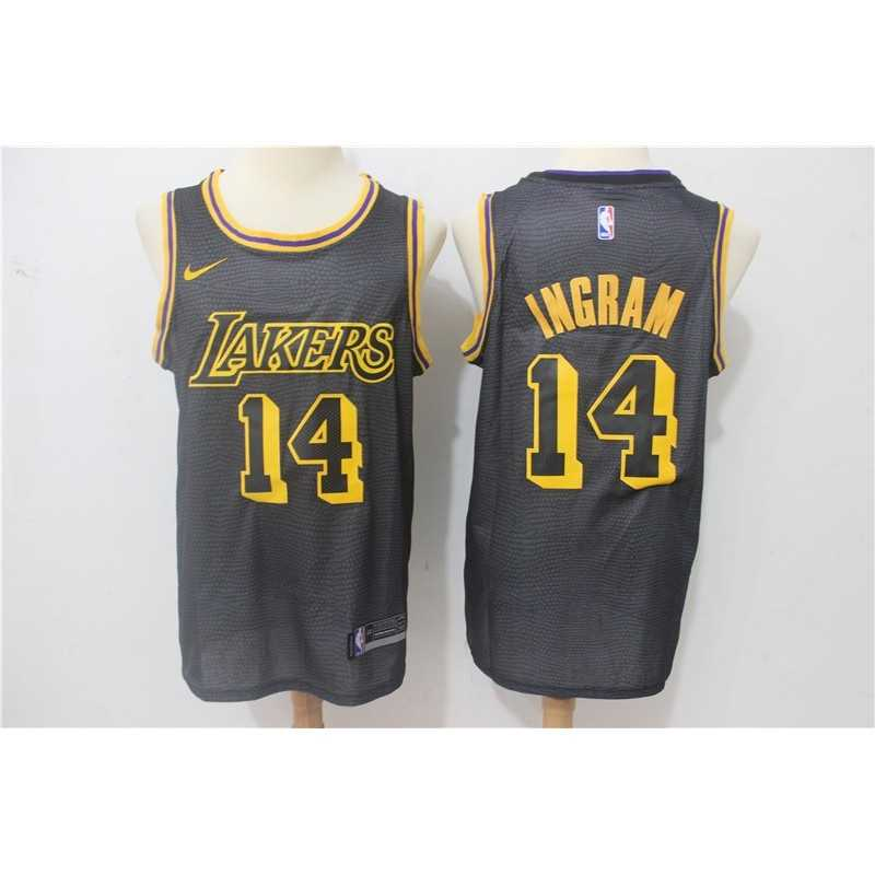 Camiseta 2018 Ball 2 b Angeles Lakers