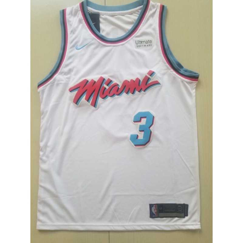 Camiseta Whiteside 21 blanca b Miami Heat