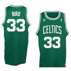 Camiseta Larry Bird retro verde