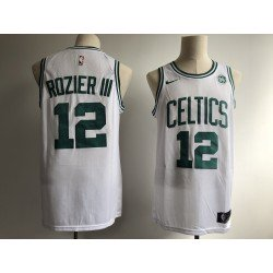 Camiseta Rozier 12 blanca Boston Celtics 2018