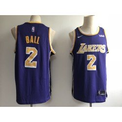 Camiseta Ball 2 morada Angeles Lakers