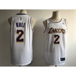 Camiseta Ball 2 blanca Angeles Lakers