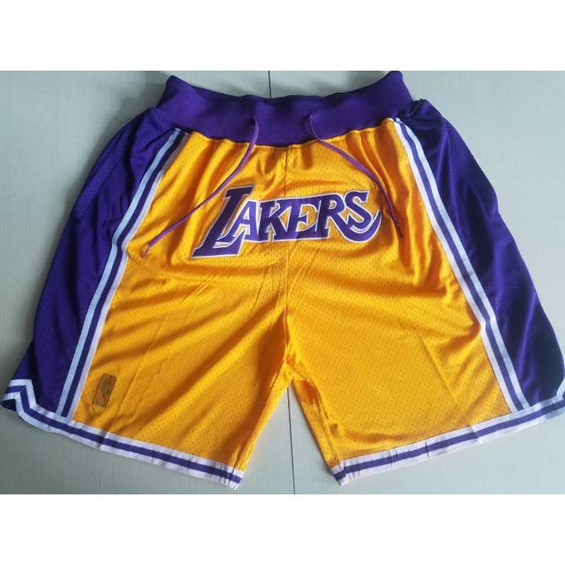 Pantalon Angeles Lakers amarillo 2019