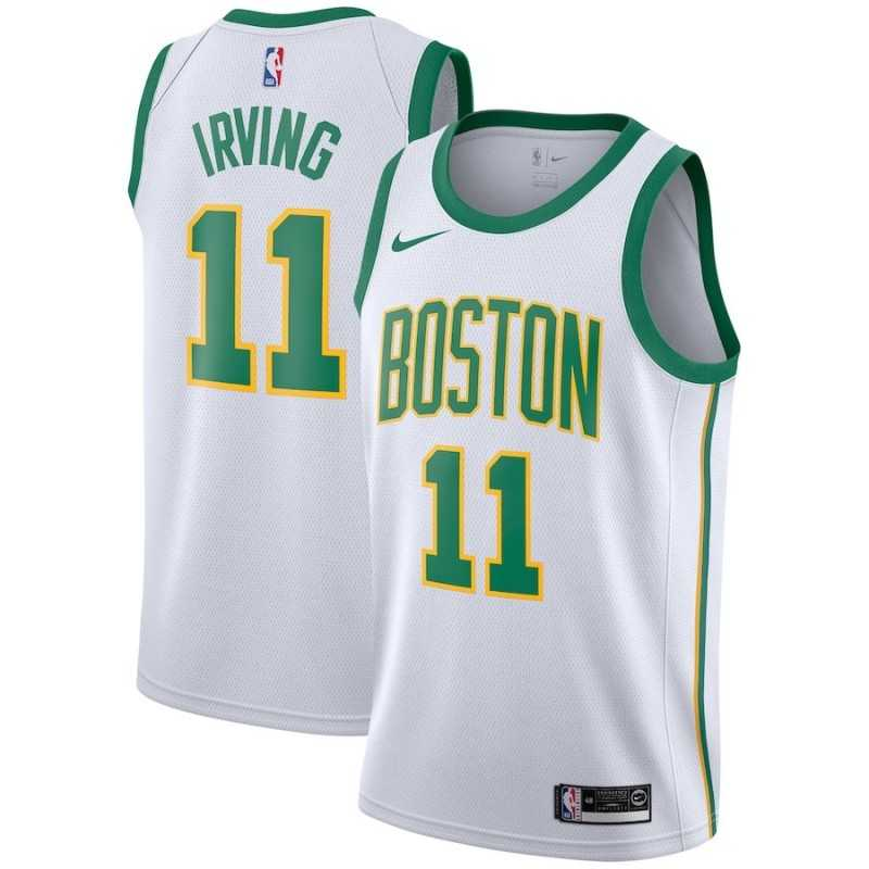 Camiseta Tatum 0 blanca / amarillaBoston Celtics 2019