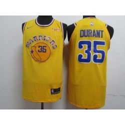 Camiseta 2019 Kevin Durant 35 azul Golden State Warriors