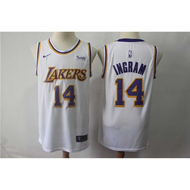 Camiseta Ingram 14 amarilla Angeles Lakers
