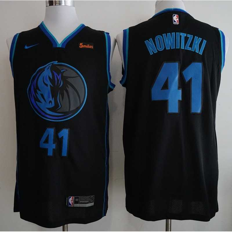 Camiseta nba Dallas Mavericks Doncic 77 azul-negral 2019