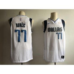 Camiseta nba Dallas Mavericks Doncic 77 azul