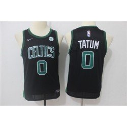 Camiseta Tatum 0 negra Boston Celtics 2019