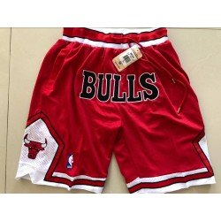 Pantalon Chicago Bulls 2019 roja retro