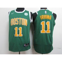 Camiseta Irving 11blanca / amarilla Boston Celtics 2019