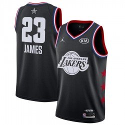 Camiseta Allstar James 23 negra 2019