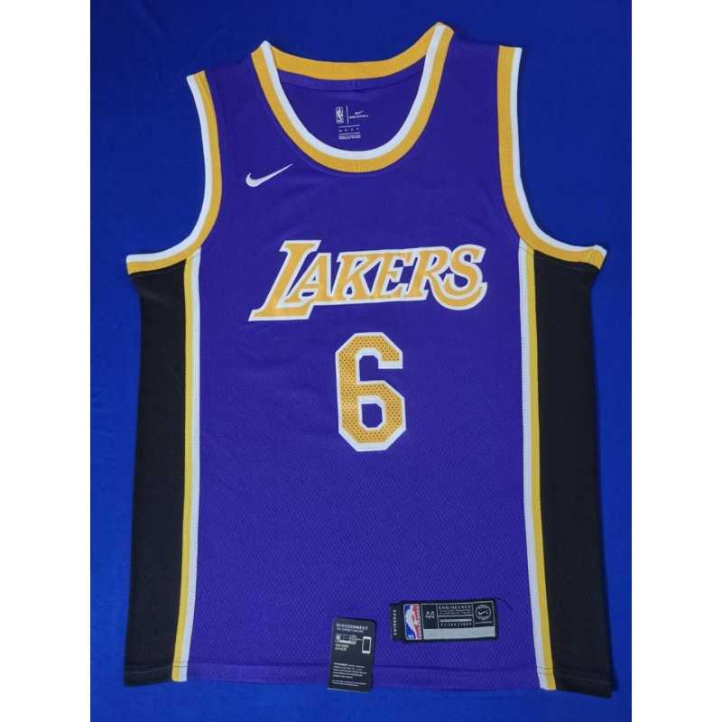 Camiseta 2019 Lebron James 23 black Angeles Lakers