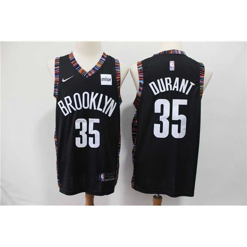 Camiseta Nets Brooklyn Russell 1 negra