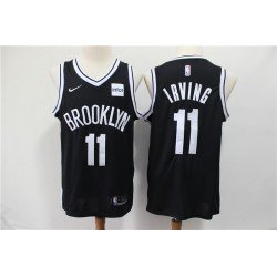Camiseta Nets Brooklyn Irving 11 negra b