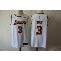 Camiseta 2019 Davis 3 blanca Angeles Lakers