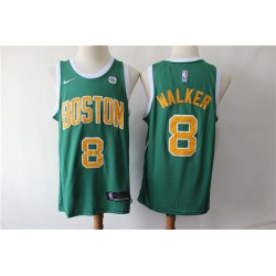Camiseta Irving 11 verde / amarilla Boston Celtics 2019