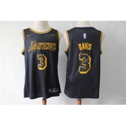 Camiseta 2019 Davis 3 morada Angeles Lakers