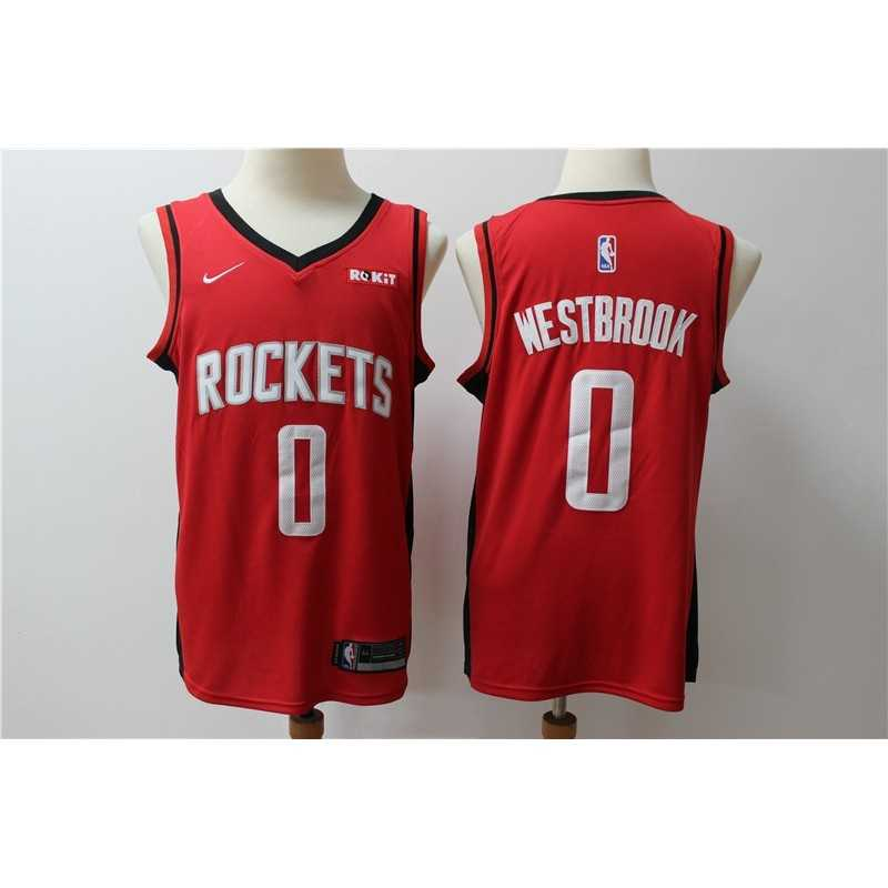 Camiseta 2019 Harden 13 roja Houston Rockets