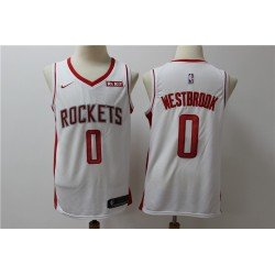 Camiseta 2019 Westbrook 0 roja Houston Rockets