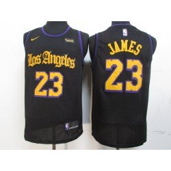 Camiseta Davis 3 negra Angeles Lakers b