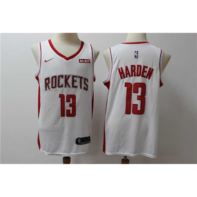 Camiseta 2019 Harden 13 blanca Houston Rockets
