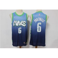 Camiseta nba Dallas Mavericks Doncic 77 azul verde
