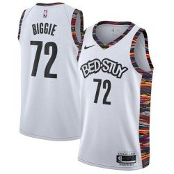 Camiseta 2020 Nets Brooklyn Biggie 72 Bed-Stuy