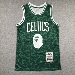 Camiseta Bape 93 verde esp Boston Celtics