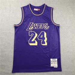 Camiseta Kobe Bryant 24 amarilla Angeles Lakers Mamba
