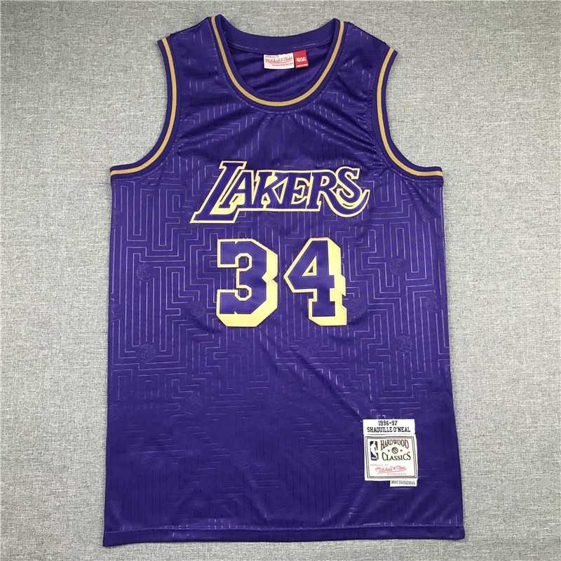 Camiseta nba Kobe Bryant 24 stripes Angeles Lakers Mamba