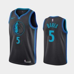 Camiseta nba Dallas Mavericks Porzingis 6 azul verde