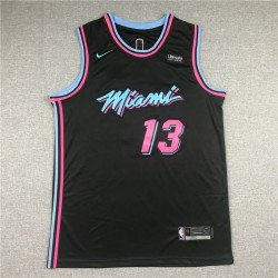 Camiseta Adebayo 13 azul Miami Heat city