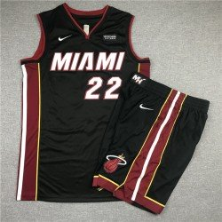 Camiseta Butler 22 negra Miami Heat city 2019