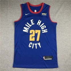 Camiseta Murray 27 negra Denver Nuggets