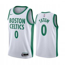 Camiseta Tatum 0 verde Boston Celtics 2020-2021