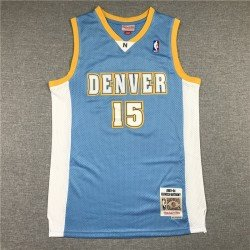 Camiseta nba Mutombo 55 azul Denver Nuggets retro