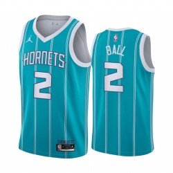 Camisetas NBA Ball 2 Hornets azul 2021