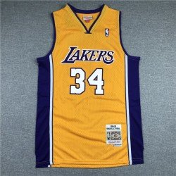 Camiseta Oneal 34 retro Angeles Lakers
