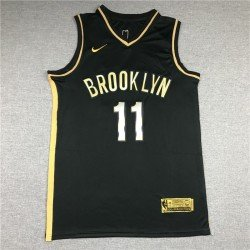 Camiseta NBA Irving 11 gold Brooklyn