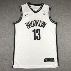 Camiseta Nets Brooklyn Harden 13 blanca